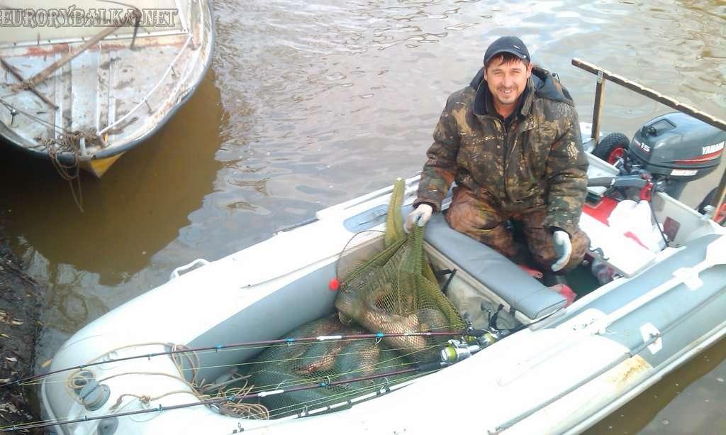 Осенняя рыбалка в Астрахани